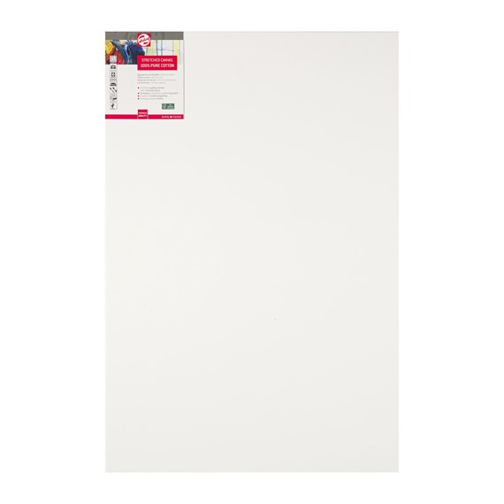 Canvas Stretched Cotton Stapled 60X90 FSC - PackshotFront