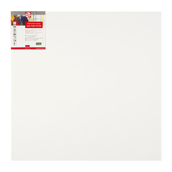 Canvas Stretched Cotton Stapled 70X70 Fsc - PackshotFront