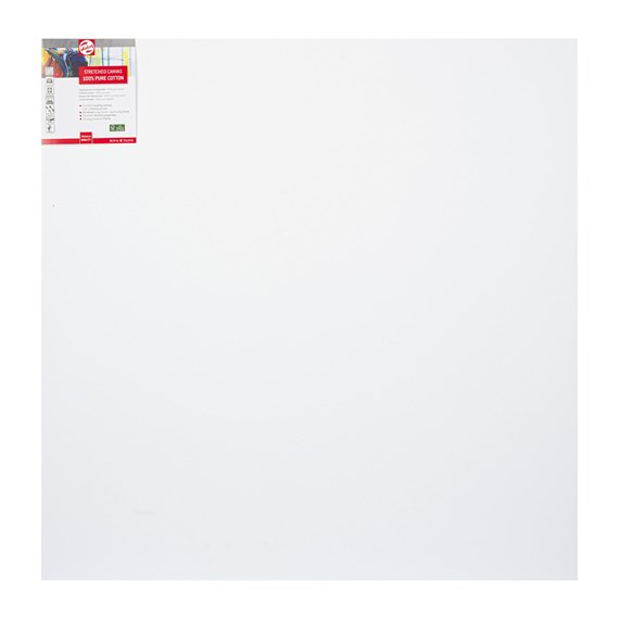 Canvas Stretched Cotton Stapled 90X90 FSC - PackshotFront