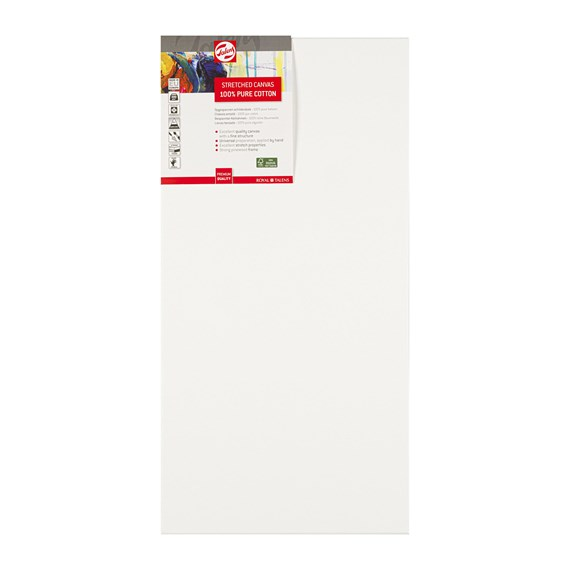 Canvas Stretched Cotton Stapled 30X60 Fsc - PackshotFront