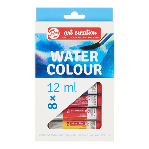 Water Colour Set 8 x 12 ml - PackshotFront