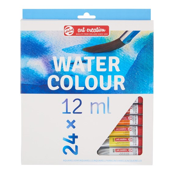 Aquarellfarbe Set 24 x12 ml - PackshotFront