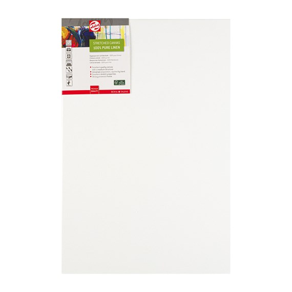 Canvas Stretched Linen Stapled 40X60 FSC - PackshotFront