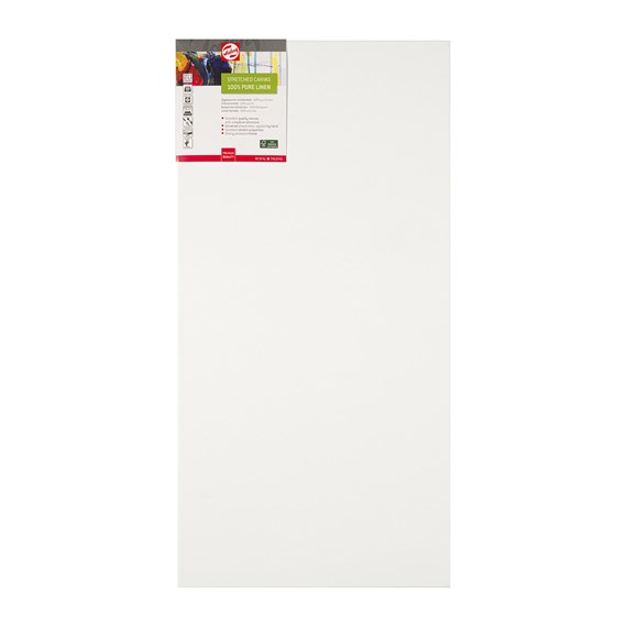 Canvas Stretched Linen Stapled 40X80 FSC - PackshotFront