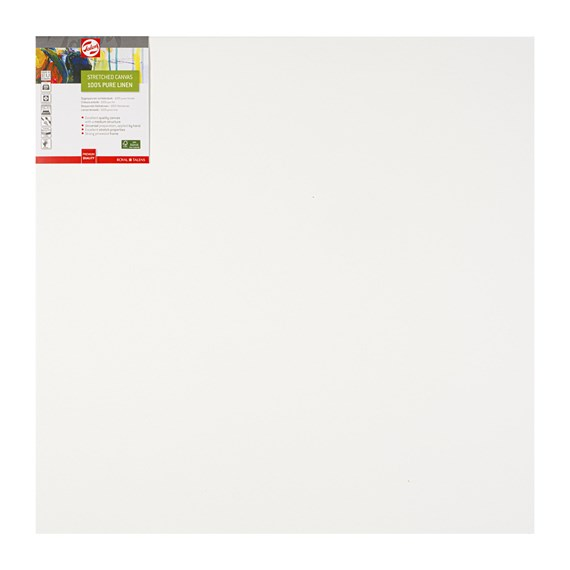 Canvas Stretched Linen Stapled 70X70 Fsc - PackshotFront