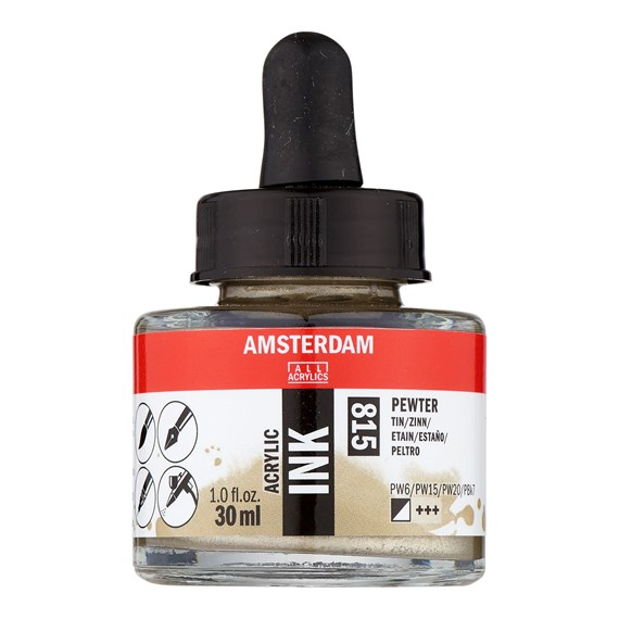 Acrylic Inkt Fles 30 ml Tin 815 - PackshotFront