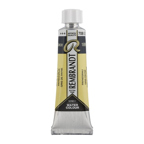 Professional Watercolour Paint, 10ml Tube, Payne's Grey 708 - PackshotFront