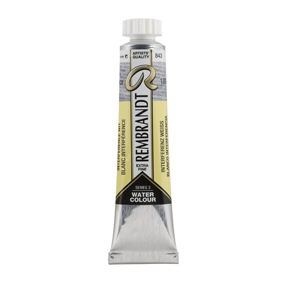 Aquarelle 20 ml Blanc Interference - PackshotFront