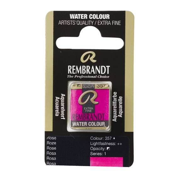 Water Colour Pan Rose 357 - PackshotFront