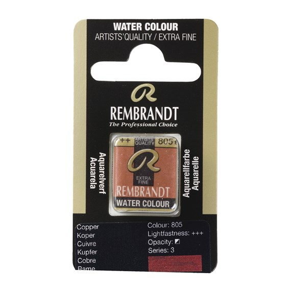 Water Colour Pan Copper 805 - PackshotFront