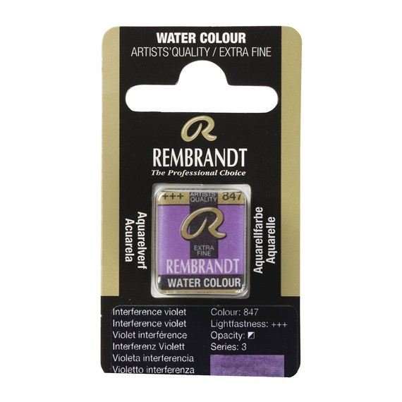Water Colour Pan Interference Violet 847 - PackshotFront