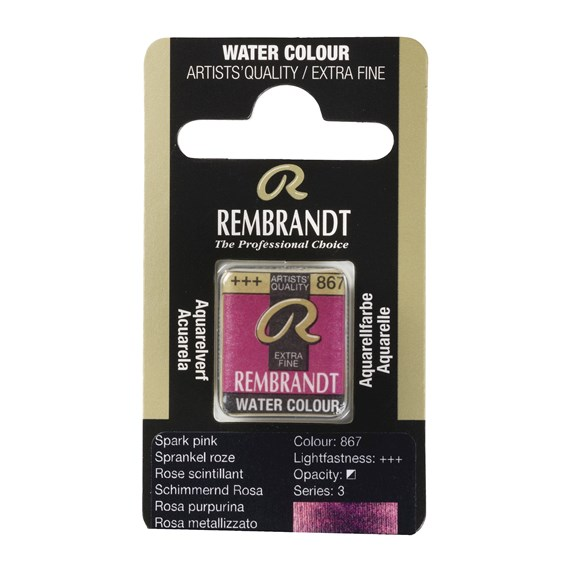 Water Colour Pan Sparkle Pink 867 - PackshotFront
