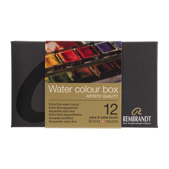 Aquarelle Set de Base 05M8612 Godets - PackshotFront