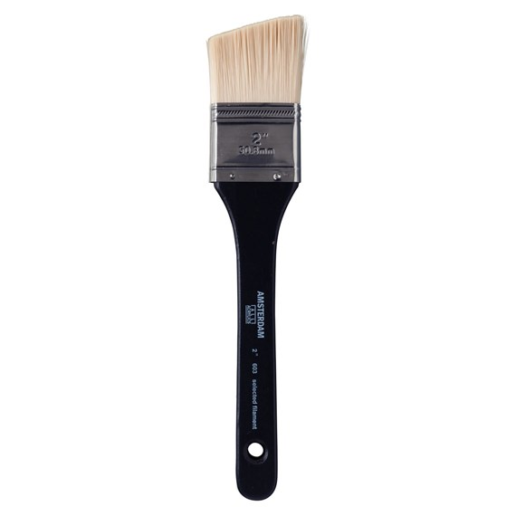Universal Angle Brush Series 603 - 2 Inch - Synthetic Hair - PackshotFront
