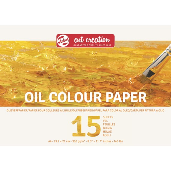 Oil Paper A4, 300G, 15 Pages - PackshotFront