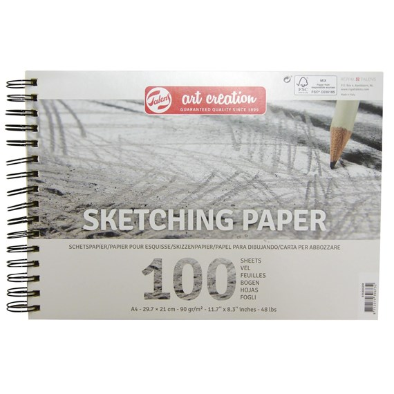 Sketch Paper A4, 90G, 100 Pages - PackshotFront