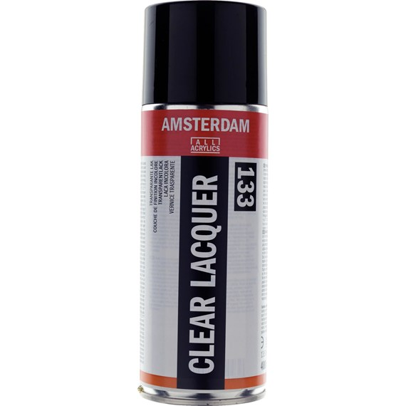Clear Lacquer Gloss Spray Can 400 ml - PackshotFront