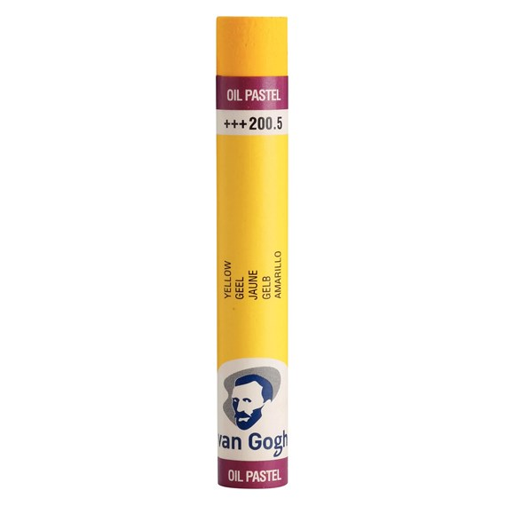 Oil Pastel Stick, Yellow(5) (200.5) - PackshotFront