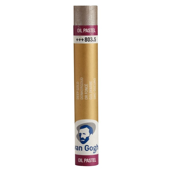 Oil Pastel Stick, Deep Gold(5) (803.5) - PackshotFront