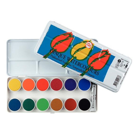 Opaque Water Colours Set 30Mp12 - PackshotFront
