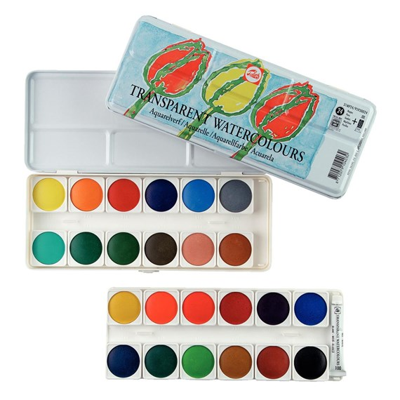 Transparante Aquarelverf Set 31Mp24 - PackshotFront