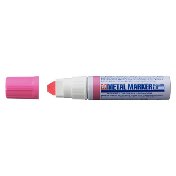 Metal Marker 10 mm rosa - PackshotFront