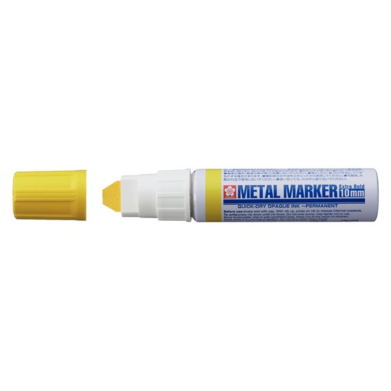 Metal Marker 10 mm Yellow - PackshotFront