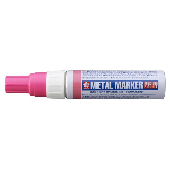 Metal Marker Medium Pink - PackshotFront