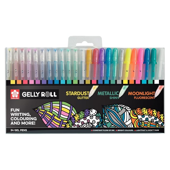 Gelly Roll Mixed Set 24 - PackshotFront