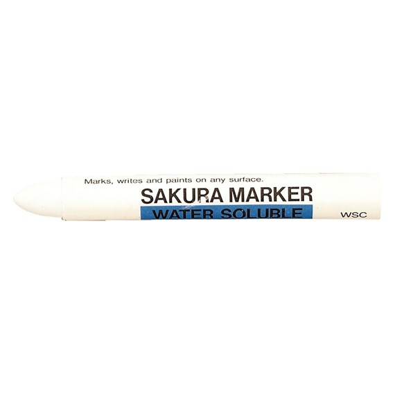 Water Soluble Marker White - PackshotFront