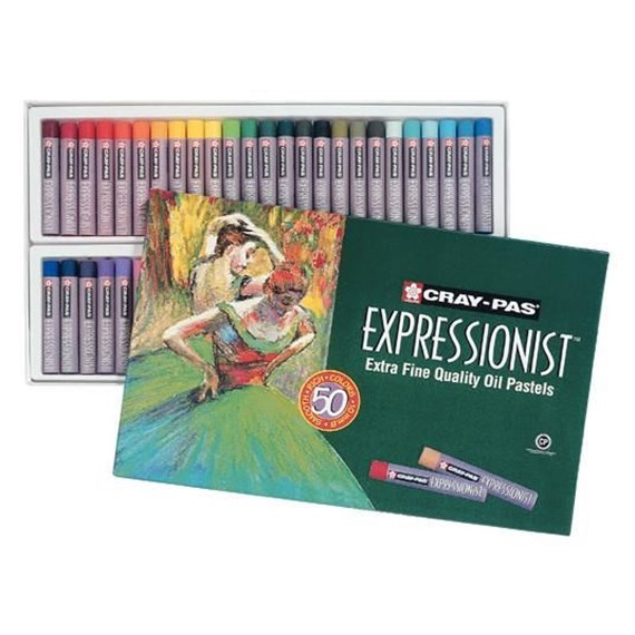 Cray-Pas  Expressionist Set 50 Oil Pastels - PackshotFront