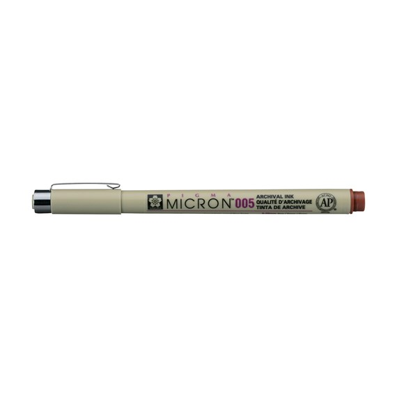 Pigma Micron 005 0.2 mm Brown - PackshotFront