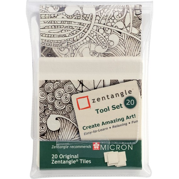 Zentangle Tool Set 20 Pieces - PackshotFront