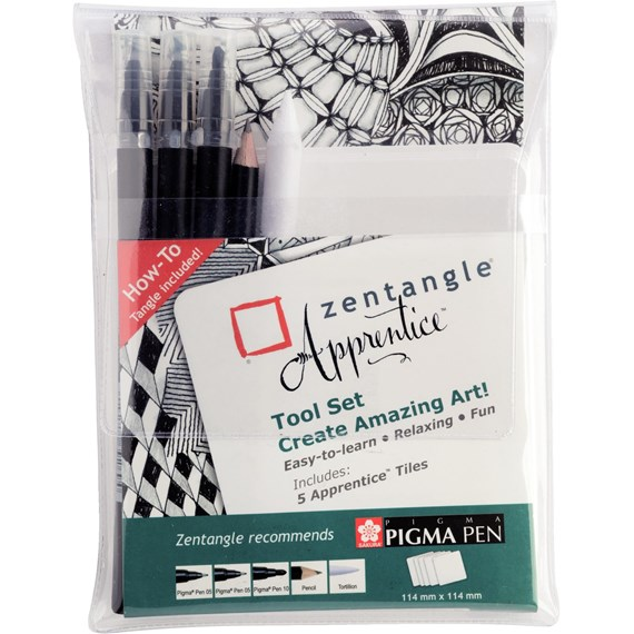 Zentangle Apprentice Toolset - PackshotFront