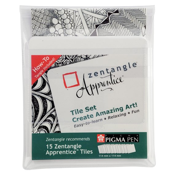 Zentangle Apprentice Tile Set - PackshotFront