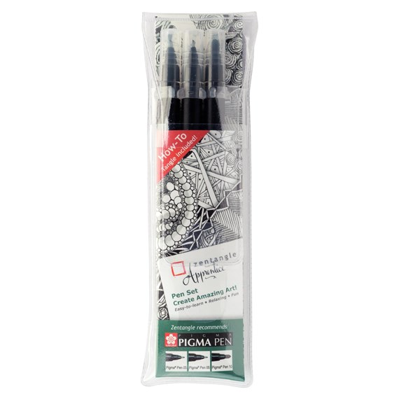 Zentangle Apprentice Pen Set - PackshotFront