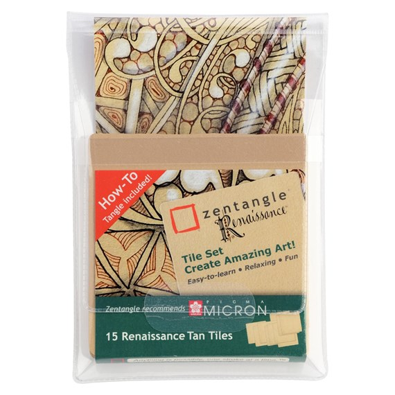 Zentangle Renaissance Set Tile - PackshotFront